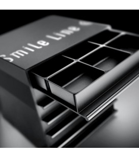 The Cube, black anodized
