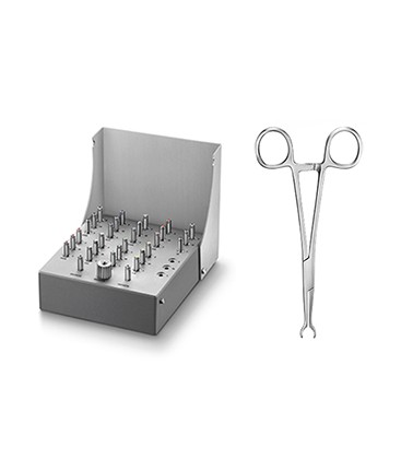 Sidekick MASTER Set + Clamp forceps
