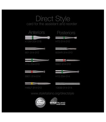 "Komet burs ""Direct Style"""